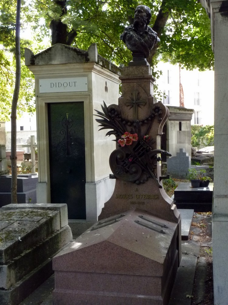 Tombe d'Offenbach