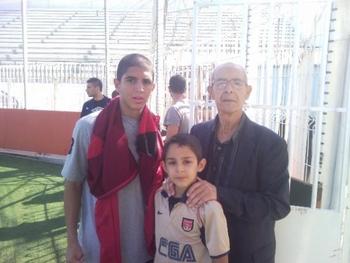 hassaine mohamed et son petit fils salim