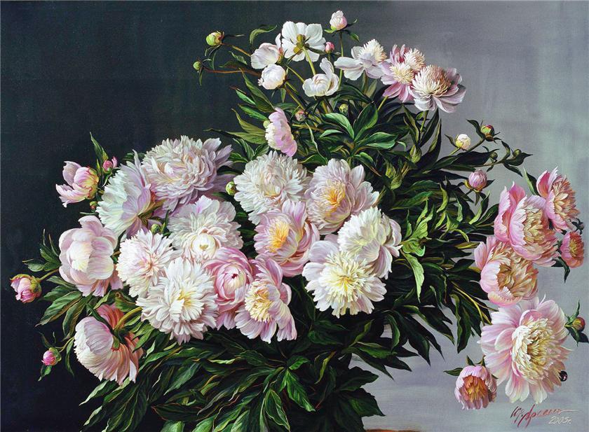 淡粉色的花蕾