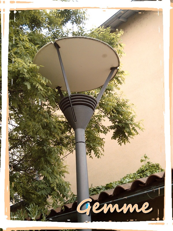Lampadaire, Oullins (69)