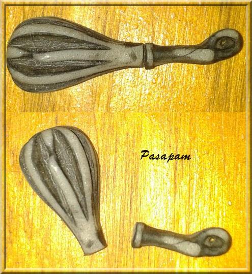 essais sur la pâte argentée - 2 -
