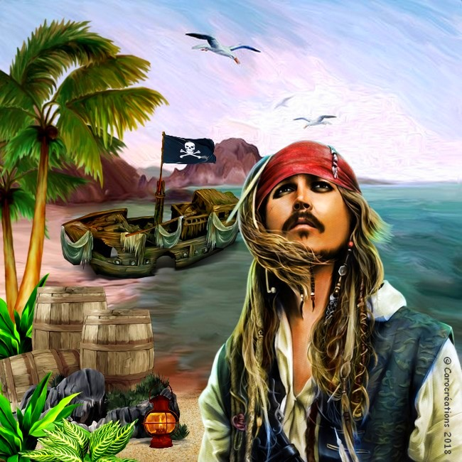 capitaine jack sparrow