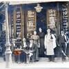 devant le café années 1910 ou 20