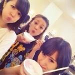 Sur le blog du groupe °C-ute (09.08.2014)
