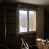 Pose ossature méttalique et placo sur pignon étage maison Mikit (2)