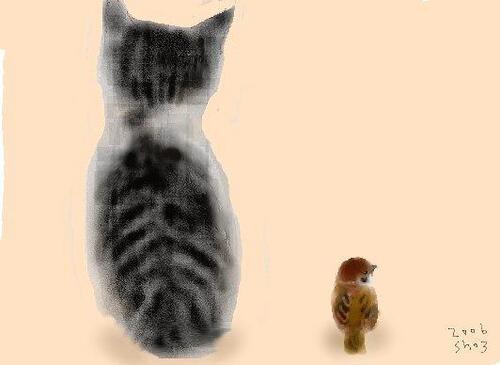 Les chats de Shozo Ozaki