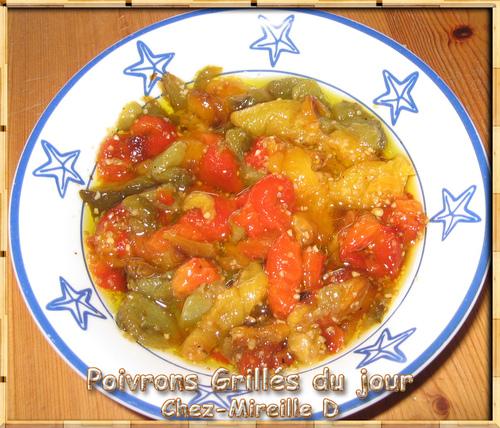 Poivrons Grillés en Salade