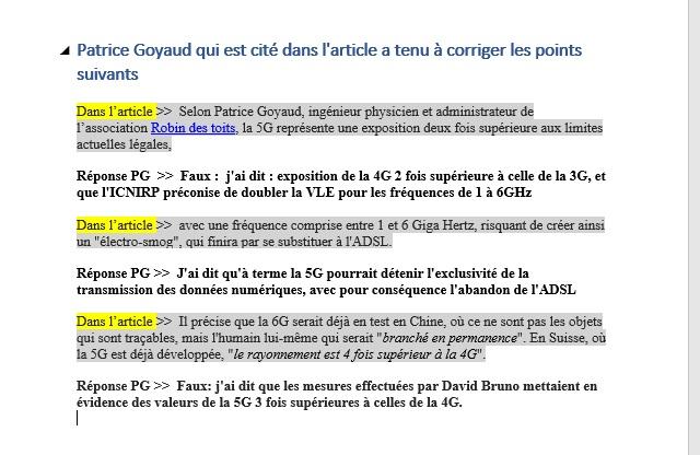 France Info  >> 5G : Michèle Rivasi est prête à porter le dossier devant la Cour de Justice de l'Union Européenne