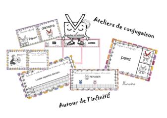 Ateliers conjugaison - infinitif