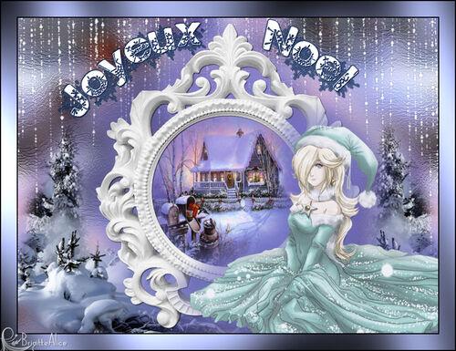 Animation Joyeux Noël