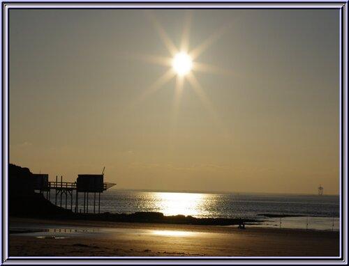 une balade au bord de la mer à Mescher sur gironde