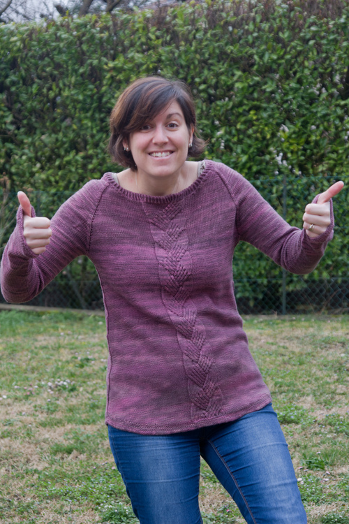 Mylène - Tricot : Pull Velvette