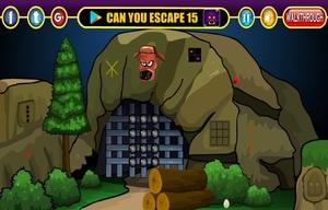 Jouer à Restricted cave escape