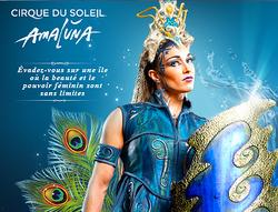 Le Cirque du Soleil vous présentera bientôt le spectacle Amaluna !