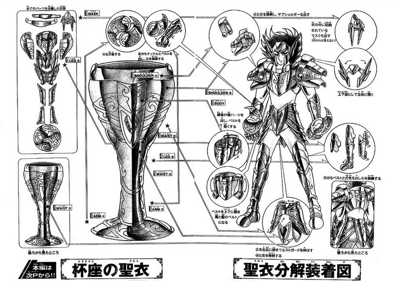 X - Armure de la Coupe (Crater Cloth)