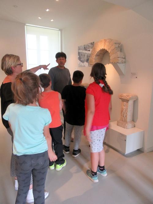 """Les écoliers de Châtillon sur Seine ont été des """"bâtisseurs dans l'âme"""" au musée du Pays Châtillonnais-Trésor de Vix"""