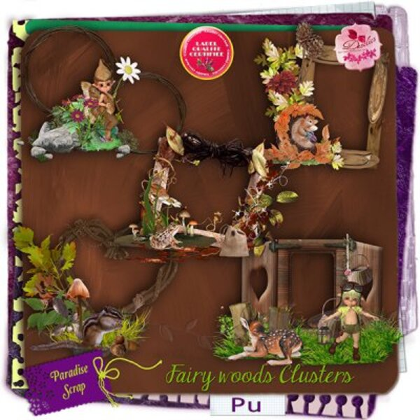 Fairy woods de Desclics