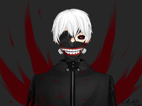 Fan Art - Ken Kaneki [Tokyo Ghoul]