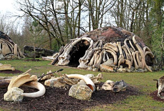 Huttes Néanderthal