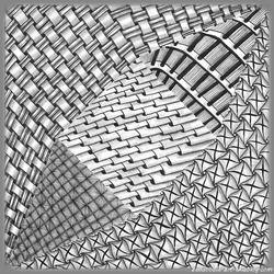 Papier origami pour plier une grue traditionnelle zendoodle sur mesure