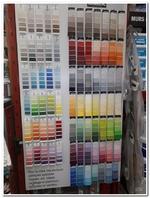 Le nuancier des couleurs