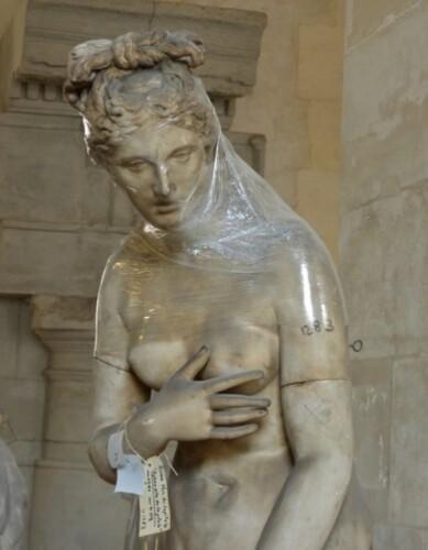 Galerie Moulages Versailles Aphrodite musée du Capitole