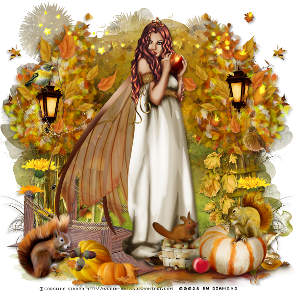 "Tutoriel ""Colors of Autumn"" de Josie psp"