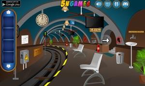 Jouer à Railway waiting room escape