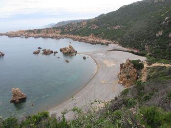 La plage sans trop de monde