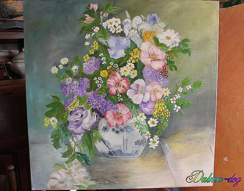 tableau peint par ma tante Marie-Christine