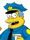 clancy wiggum Simpson film
