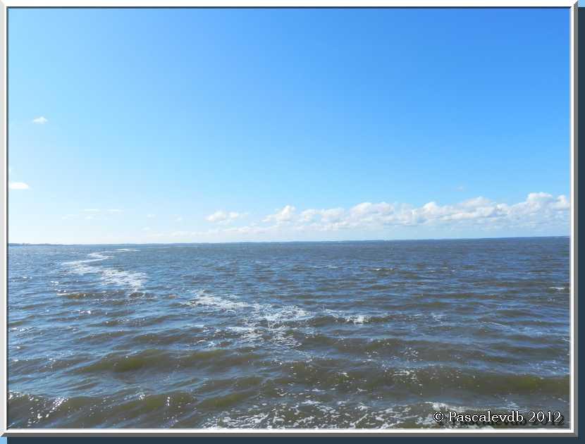 Gujan Mestras - Le port de Larros et la jetée du Christ - 1/3