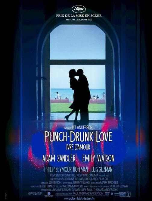 PUNCH DRUNK LOVE BOX OFFICE FRANCE 2003