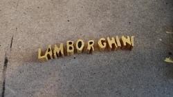 Création du logo Lamborghini