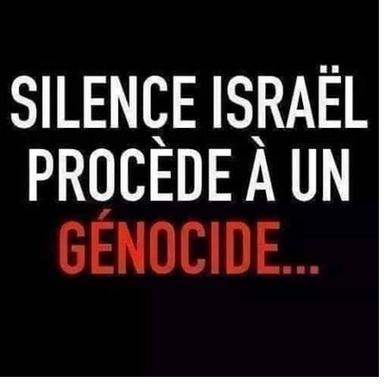 Netanyahu et Macron, la honte !