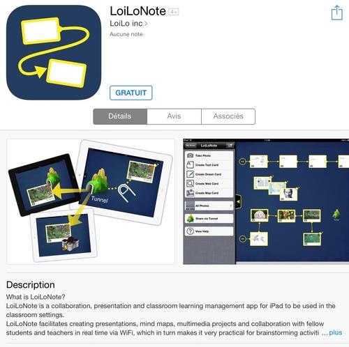 [appli] LoiLoNote