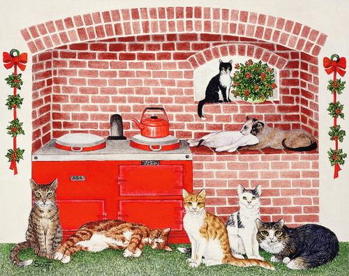 Les chats de Patt Scott