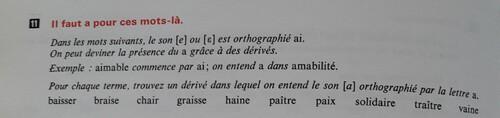 A / Le son [ɛ]