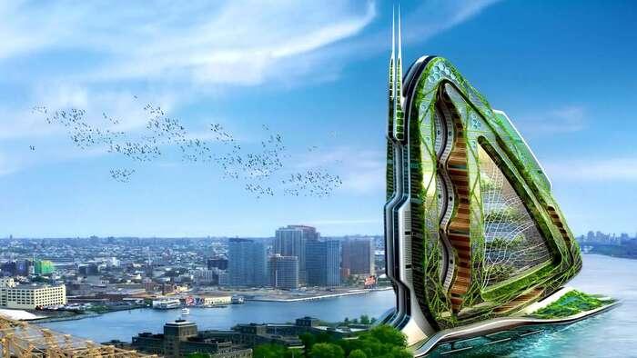 L'arche bionique de Taiwan : la nature à la vertical