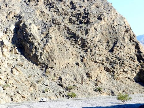 Musandam Montagnes