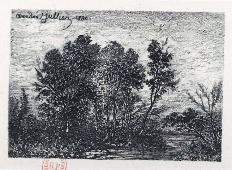 Amédée Jullien (gravure d. 1880)