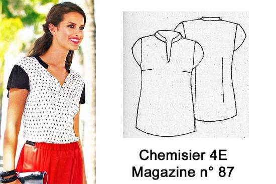 Chemisier 4 E N° 87