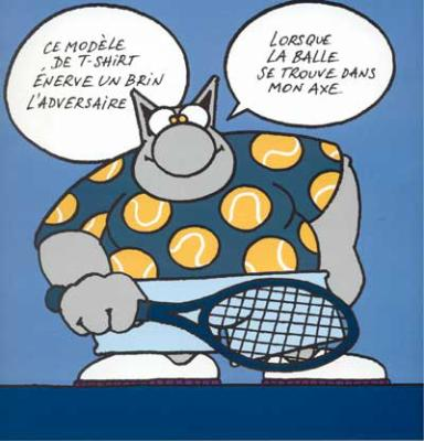 chat bande dessinee