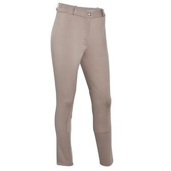Pantalons Equitation - Pantalon femme ACCESSY beige FOUGANZA - Habillement du cavalier
