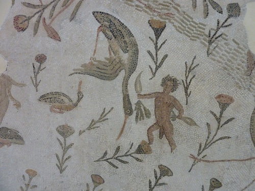El-Jem, encore quelques mosaïques