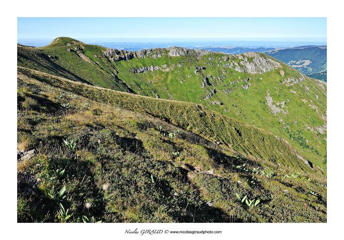 Le Plomb, un lever magique sur les Monts du Cantal