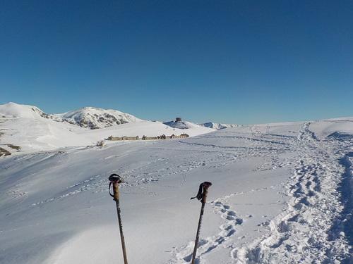 DOMANDALAS randonnée dans la neige ce jour 29 01 18