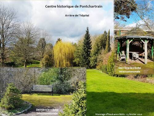 L'hôpital de la Mauldre et la rue Saint-Louis de Pontchartrain