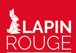 Le lapin rouge.