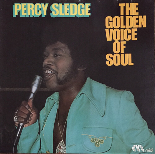"Percy Sledge : Album "" Warm & Tender Soul "" Atlantic Records SD 8132 [ US ]"